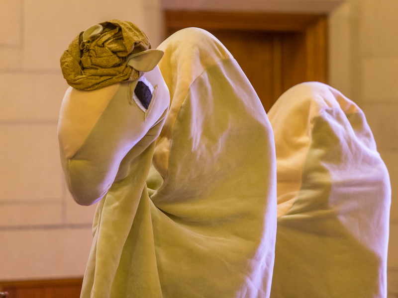 The camel that came to church